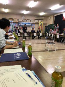 下田地区海の安全運動推進連絡会議に参加しました