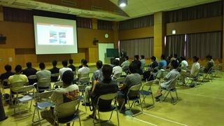 海の安全・安心講座2017を開催しました