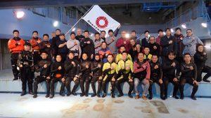海保特救隊との合同訓練を開催しました
