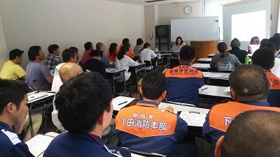 ドクターヘリ合同勉強会を西伊豆地区で開催しました