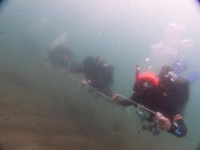 潜水捜索訓練を実施しました