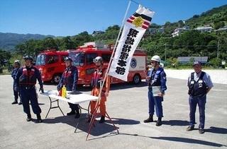 熱海市総合防災訓練に参加しました