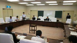 東伊豆町で水難事故対策会議が開催されました