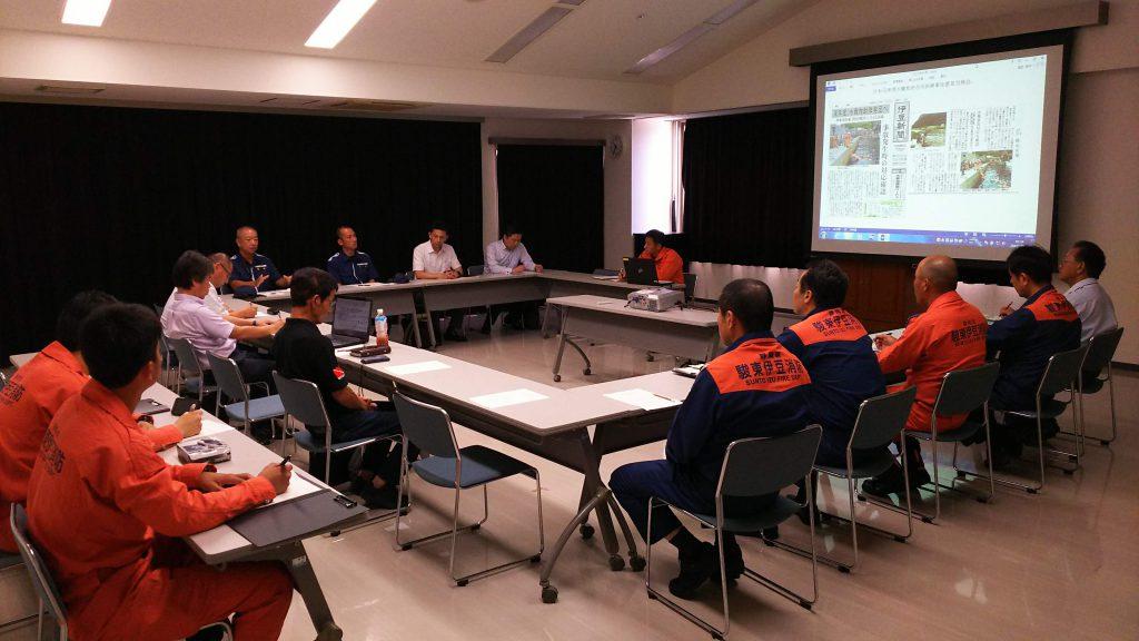 水難救助合同訓練