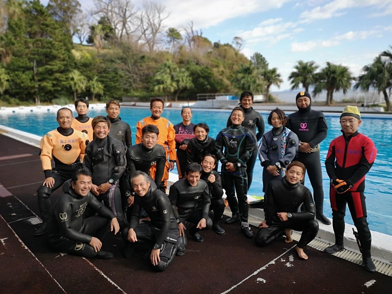 潜水捜索訓練を開催しました